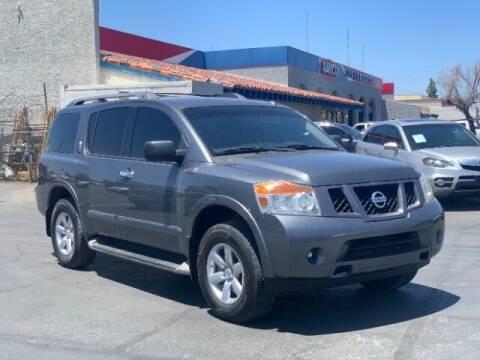2014 Nissan Armada for sale at Brown & Brown Wholesale in Mesa AZ