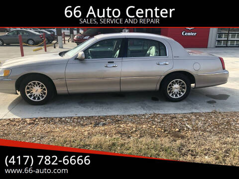 2002 Lincoln Town Car for sale at 66 Auto Center in Joplin MO