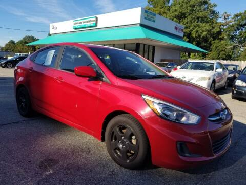2016 Hyundai Accent for sale at Action Auto Specialist in Norfolk VA