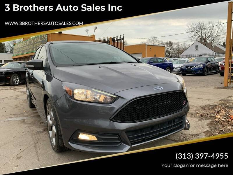 2018 Ford Focus for sale at 3 Brothers Auto Sales Inc in Detroit MI