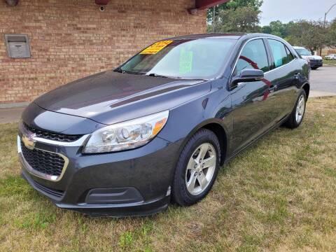 2014 Chevrolet Malibu for sale at Murdock Used Cars in Niles MI