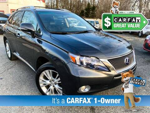 2010 Lexus RX 450h for sale at High Rated Auto Company in Abingdon MD