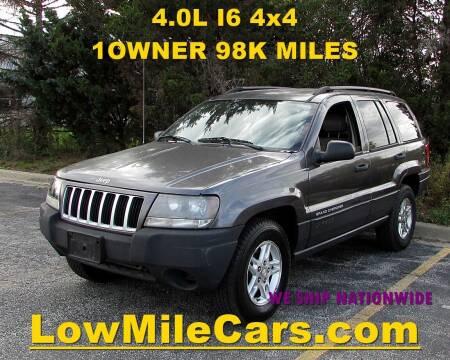 2004 Jeep Grand Cherokee for sale at A1 Auto Sales in Burr Ridge IL