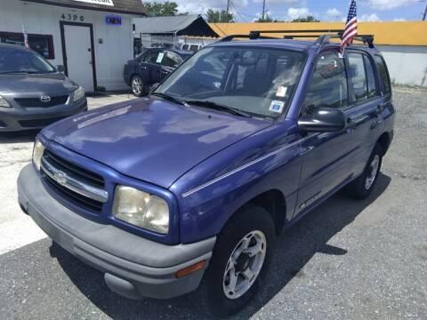 1999 Chevrolet Tracker for sale at CENTRAL FLORIDA AUTO MART LLC in Orlando FL