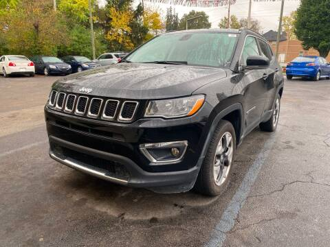 2018 Jeep Compass for sale at Right Place Auto Sales in Indianapolis IN