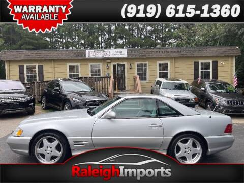 2001 Mercedes-Benz SL-Class for sale at Raleigh Imports in Raleigh NC