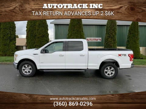 2016 Ford F-150 for sale at AUTOTRACK INC in Mount Vernon WA