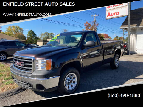 2010 GMC Sierra 1500 for sale at ENFIELD STREET AUTO SALES in Enfield CT