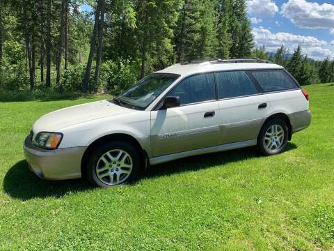 2004 Subaru Outback for sale at Harpers Auto Sales in Kettle Falls WA