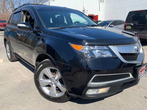 2012 Acura MDX for sale at JerseyMotorsInc.com in Teterboro NJ