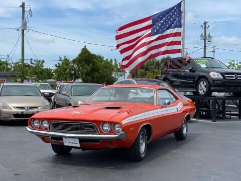 1974 Dodge Challenger for sale at KD's Auto Sales in Pompano Beach FL