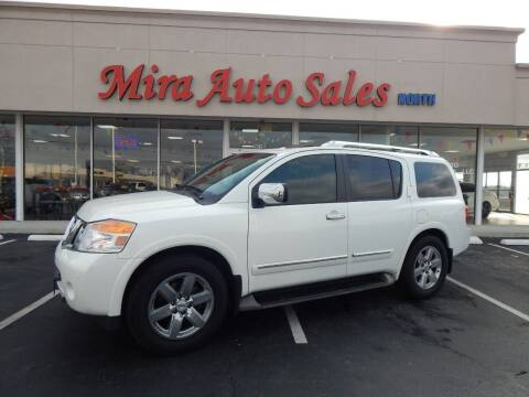 2013 Nissan Armada for sale at Mira Auto Sales in Dayton OH