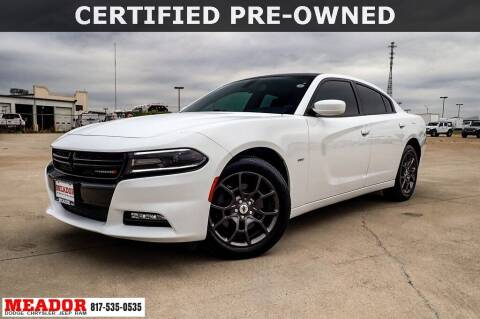 2018 Dodge Charger for sale at Meador Dodge Chrysler Jeep RAM in Fort Worth TX