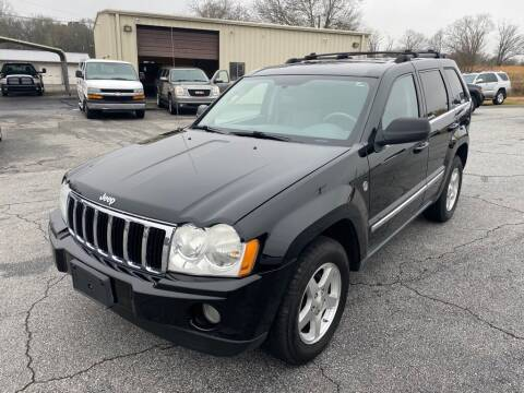 2007 Jeep Grand Cherokee for sale at Brewster Used Cars in Anderson SC
