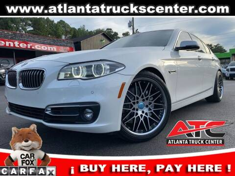 2015 BMW 5 Series for sale at ATLANTA TRUCK CENTER LLC in Brookhaven GA