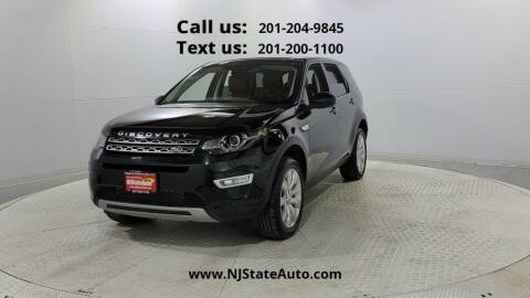 2016 Land Rover Discovery Sport for sale at NJ State Auto Used Cars in Jersey City NJ