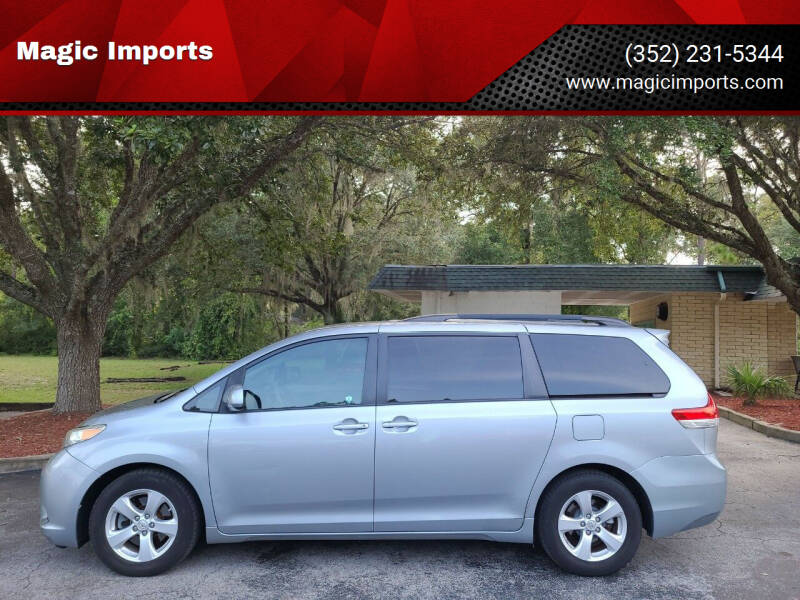 2011 Toyota Sienna for sale at Magic Imports in Melrose FL