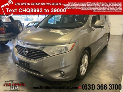 2012 Nissan Quest for sale at CERTIFIED HEADQUARTERS in St James NY