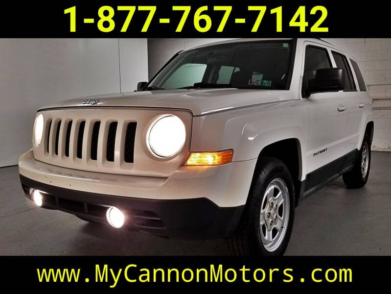 2011 Jeep Patriot for sale at Cannon Motors in Silverdale PA