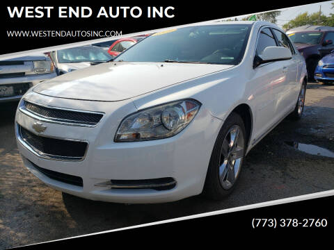 2009 Chevrolet Malibu for sale at WEST END AUTO INC in Chicago IL