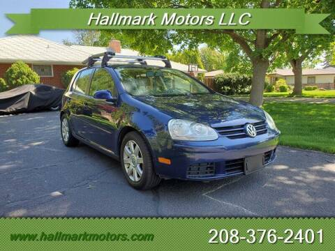 2006 Volkswagen Rabbit for sale at HALLMARK MOTORS LLC in Boise ID