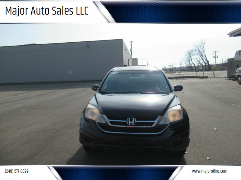 2010 Honda CR-V for sale at Major Auto Sales LLC in Madison Heights MI