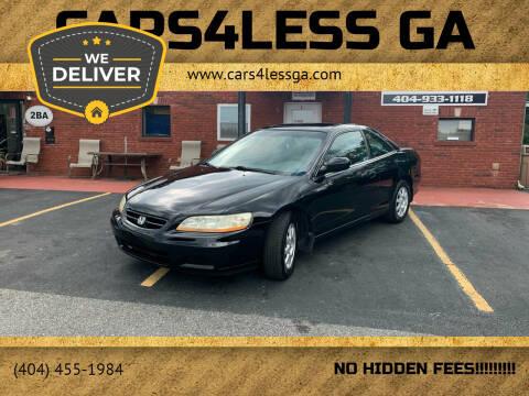 2002 Honda Accord for sale at Cars4Less GA in Alpharetta GA
