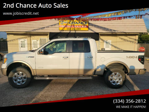 2013 Ford F-150 for sale at 2nd Chance Auto Sales in Montgomery AL