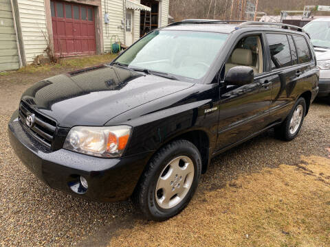 2006 Toyota Highlander for sale at Richard C Peck Auto Sales in Wellsville NY