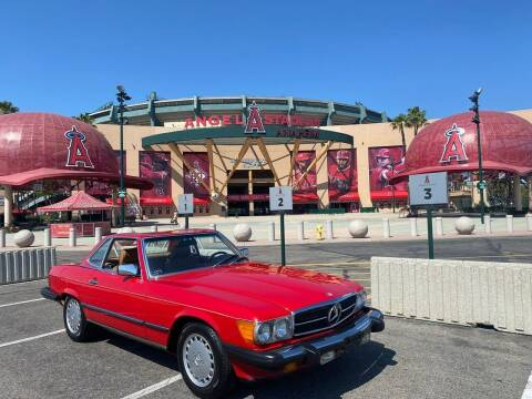1988 Mercedes-Benz 560-Class for sale at Gallery Junction in Orange CA