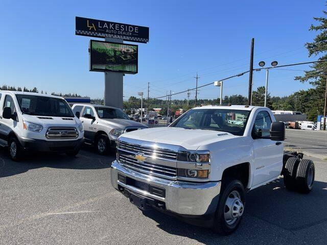 2016 Chevrolet Silverado 3500 HD Regular Cab  for sale at Lakeside Auto in Lynnwood WA