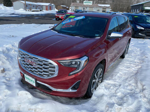 2018 GMC Terrain for sale at Greens Auto Mart Inc. in Wysox PA
