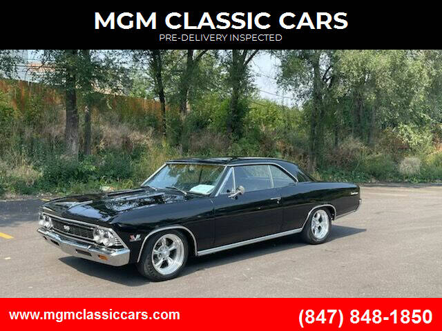 1966 Chevrolet Chevelle for sale at MGM CLASSIC CARS-New Arrivals in Addison IL