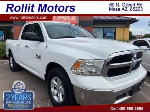 2013 RAM Ram Pickup 1500 for sale at Rollit Motors in Mesa AZ