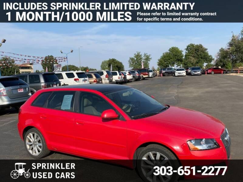 2009 Audi A3 for sale at Sprinkler Used Cars in Longmont CO