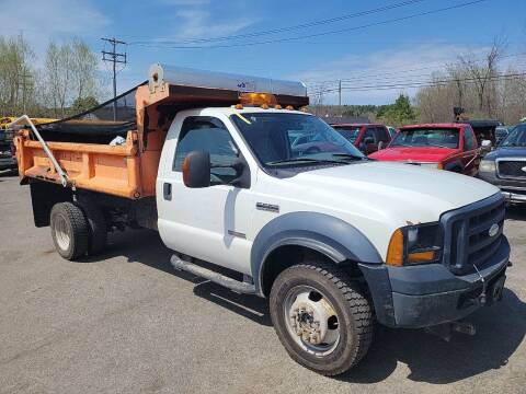 2007 Ford F-550 Super Duty for sale at GLOVECARS.COM LLC in Johnstown NY