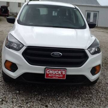 2019 Ford Escape for sale at CHUCK'S AUTO SALES in Lowry City MO