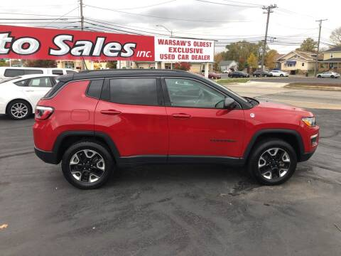 2018 Jeep Compass for sale at N & J Auto Sales in Warsaw IN