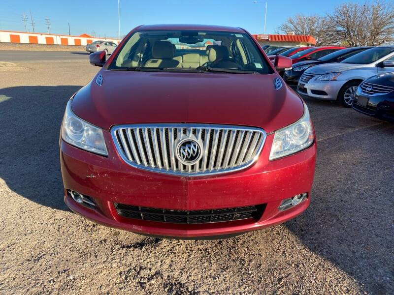 2011 Buick LaCrosse for sale at Good Auto Company LLC in Lubbock TX