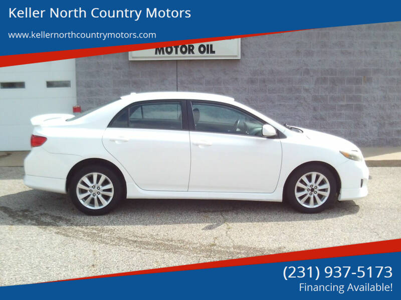 2010 Toyota Corolla for sale at Keller North Country Motors in Howard City MI