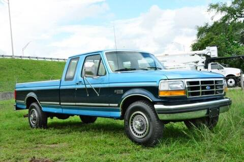 1992 Ford F-250 for sale at American Trucks and Equipment in Hollywood FL