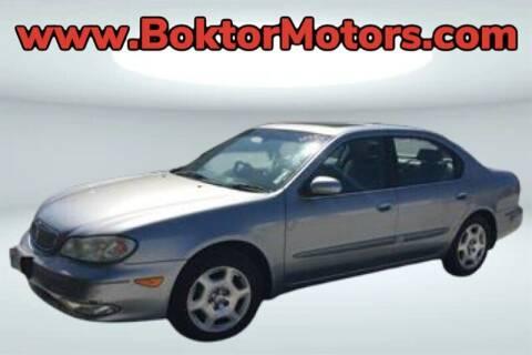 2001 Infiniti I30 for sale at Boktor Motors in North Hollywood CA