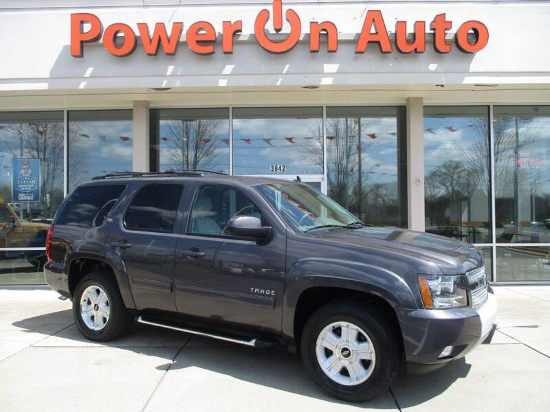 2011 Chevrolet Tahoe for sale at Power On Auto LLC in Monroe NC