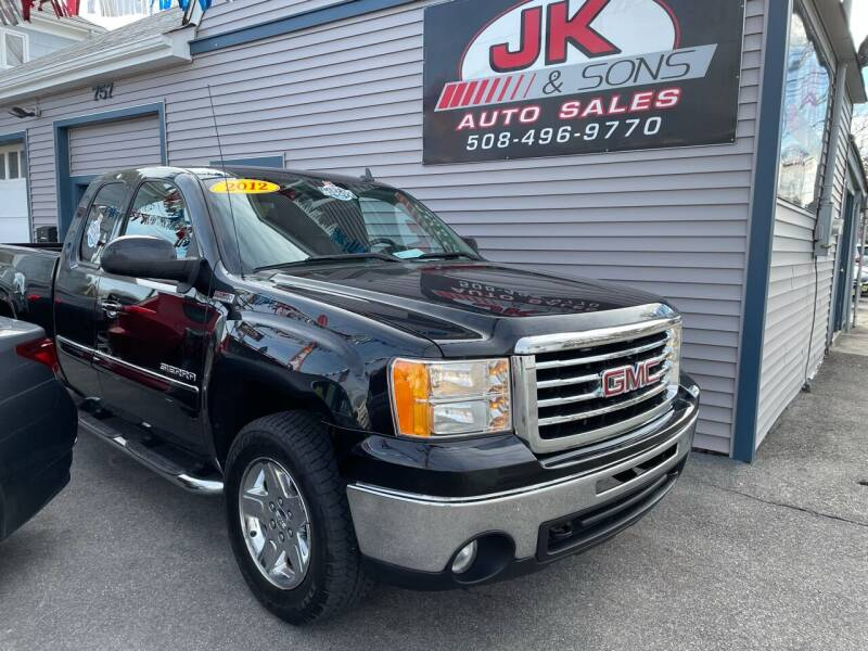 2012 GMC Sierra 1500 for sale at JK & Sons Auto Sales in Westport MA