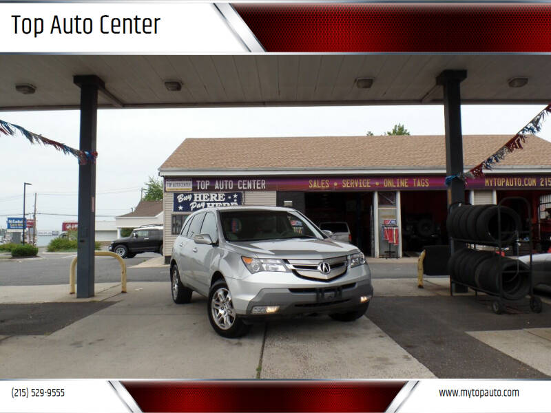 2009 Acura MDX for sale at Top Auto Center in Quakertown PA