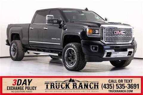 2018 GMC Sierra 3500HD for sale at Truck Ranch in Logan UT