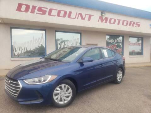 2017 Hyundai Elantra for sale at Discount Motors in Pueblo CO