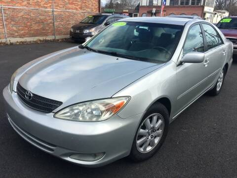 2003 Toyota Camry for sale at Dijie Auto Sale and Service Co. in Johnston RI