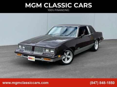 1986 Oldsmobile Cutlass Salon for sale at MGM CLASSIC CARS in Addison, IL