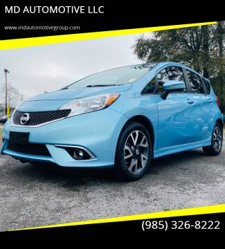 2015 Nissan Versa Note for sale at MD AUTOMOTIVE LLC in Slidell LA